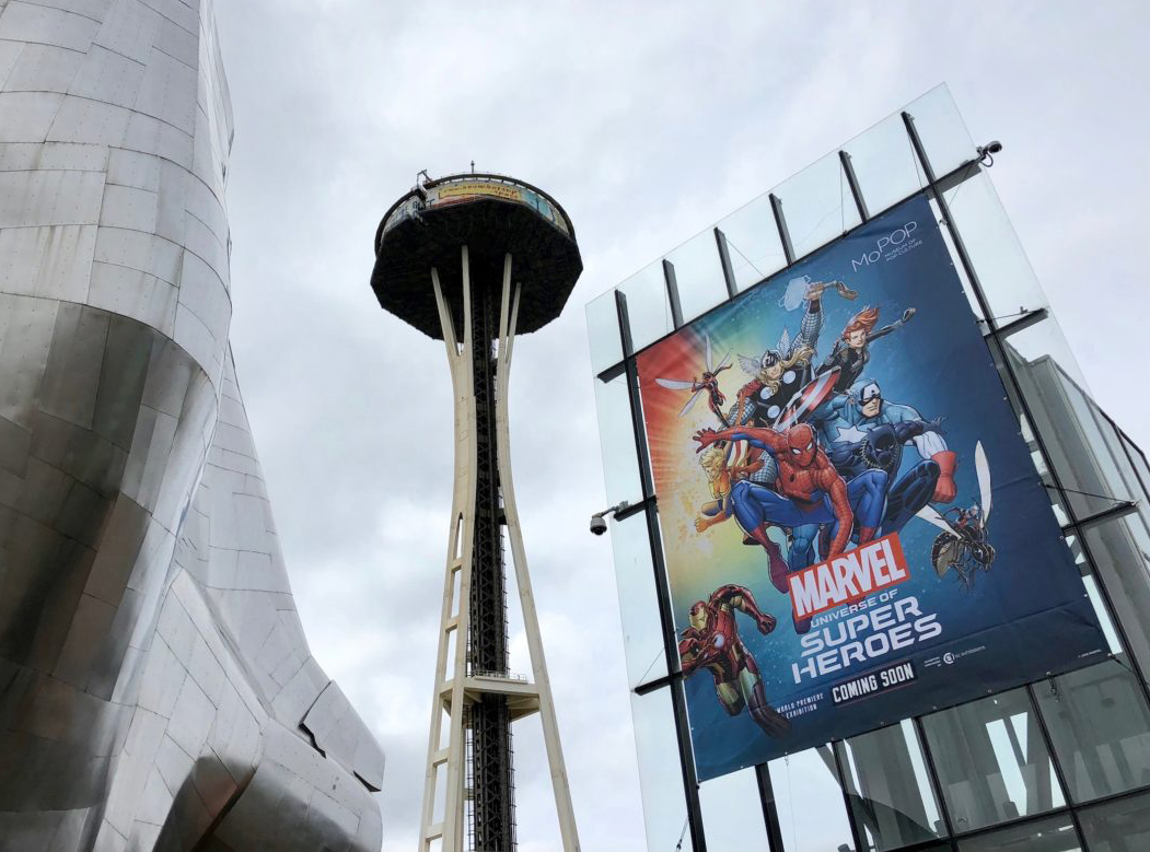Marvel-Universe of Superheroes in Seattle